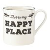"""Lenox Around the Table """"This Is My Happy Place"""" Mug"""