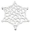 Lenox Warmest Wishes Metal Snowflake Trivet