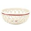 Lenox Winter Greetings Open Weave Bread Basket