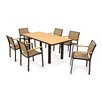 POLYWOOD® Bayline™ 7 Piece Dining Set II