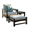 POLYWOOD® Club 3 Piece Deep Seating Group with Cushions