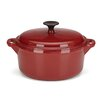 Gorham Rick Bayless 4-qt Cast Iron Round Dutch Oven with Lid