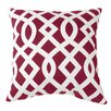 Commonwealth Home Fashions Trellis Cotton Throw Pillow