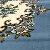 DonnieAnn Company TajMahal Blue Oriental Area Rug