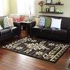 DonnieAnn Company Bahamas Black Indoor/Outdoor Area Rug