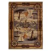 DonnieAnn Company Wilderness Beige Area Rug