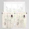 Park B Smith Ltd Vintage House Postale Cafe Curtain Panel