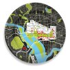 "notNeutral City on a Plate 12"" Washington D.C. Dinner Plate"