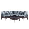 DHI Naples 6 Piece Deep Seating Group with Cushions