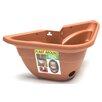 Vinyl Pot Planter (Set of 8) Color: Terracotta - DeVault Enterprises Planters