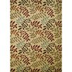 Concord Global Imports Arthur Ivory Leafs Area Rug