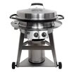"Evo Outdoor Grills 40"" Professional 2-Burner Gas Grill with Cooktop"
