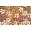 Home Dynamix Cushy Comfort Flowers Doormat