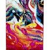 Home Dynamix Splash Multi-Colored Watercolors Area Rug