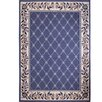 Home Dynamix Geometric Country Blue Area Rug