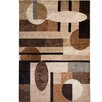 Home Dynamix Tribeca Patterned Brown/Tan Area Rug