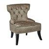 Ave Six Colton Vintage Tufted Velvet Side Chair