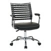 Ave Six Randal Adjustable Mid-Back Task Chair with Arms