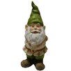 Alpine Gnome Statue with Hand Behind His Back
