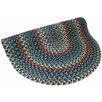 Thorndike Mills Pioneer Valley II Carribean Blue Multi Round Outdoor Rug