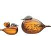 iittala Birds by Toikka Mother and Baby Figurine