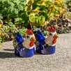 Small Ceramic Hen Statue - Alfresco Home Garden Statues and Outdoor Accents