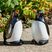 Ceramic Penguin Statue - Size: Medium - Alfresco Home Garden Statues and Outdoor Accents
