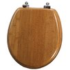 Mayfair Bamboo Round Toilet Seat