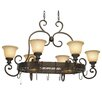 Wildon Home ® Cambridge Chandelier Pot Rack with 8 Light