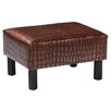 Wildon Home ® Thomas Ottoman/Foot Stool in Faux Alligator