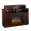 Wildon Home ® Lincoln TV Stand with Electric Fireplace