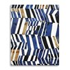 Wildon Home ® Cobalt and Ochre by Kate Roebuck Painting Print on Canvas