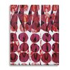 Wildon Home ® Coral and Wine by Kate Roebuck Painting Print on Canvas