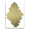 Wildon Home ® Golden Honeycomb by Kate Roebuck Graphic Art on Canvas