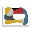 Wildon Home ® 'Color Block Series on White I' by New Era Graphic Art on Wrapped Canvas