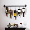 Wildon Home ® Carsten 5 Bottle Wall Mount Wine Rack