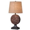 """Wildon Home ® Knot 28"""" H Table Lamp with Empire Shade"""