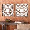 Wildon Home ® Croydon Wall Mirror (Set of 2)