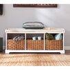 Wildon Home ® Lodi Wood Storage Entryway Bench