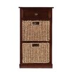 Wildon Home ® Khoury 2-Basket Storage Shelf