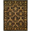 Wildon Home ® Anchorage Hand-Knotted Black/Gold Area Rug