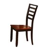 Wildon Home ® Side Chair in Brown (Set of 2)