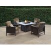 Wildon Home ® Jackson Lounge Arm Chair with Cushions (Set of 2)