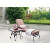 Wildon Home ® Antoine Chaise Lounge with Cushions (Set of 2)