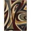 Wildon Home ® Steele Swirl Brown/Multi Area Rug