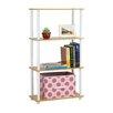 "Wildon Home ® 43.7"" Accent Shelves Bookcase"