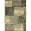 Wildon Home ® Concord Block Impressions Brown & Green Area Rug