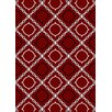 Wildon Home ® Daniyelle  Red Area Rug