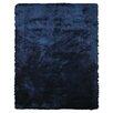 Wildon Home ® Alitzah  Hand-Tufted Dark Blue Area Rug