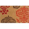 Wildon Home ® Crystle Orange Baroque Doormat